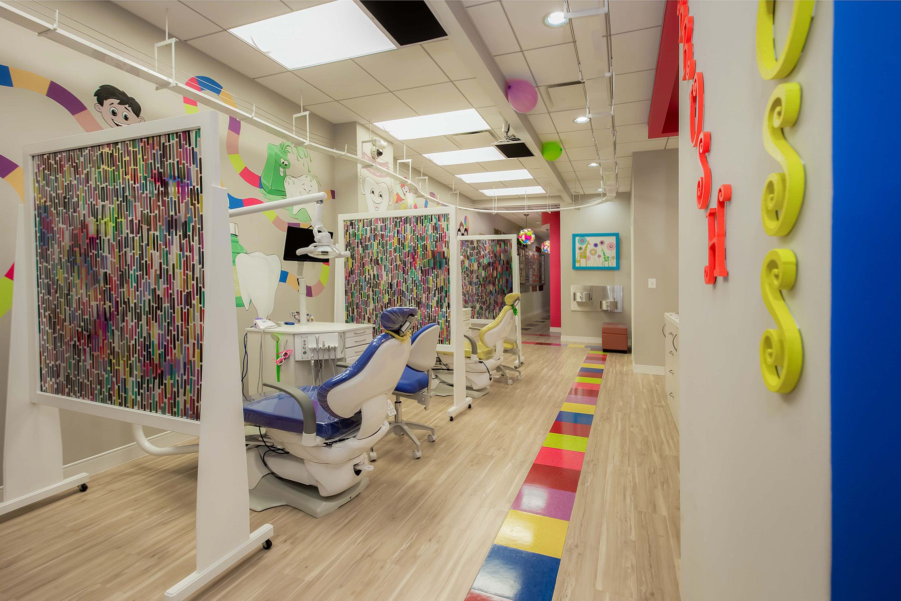 Dental land pediatrics pediatric dental office design