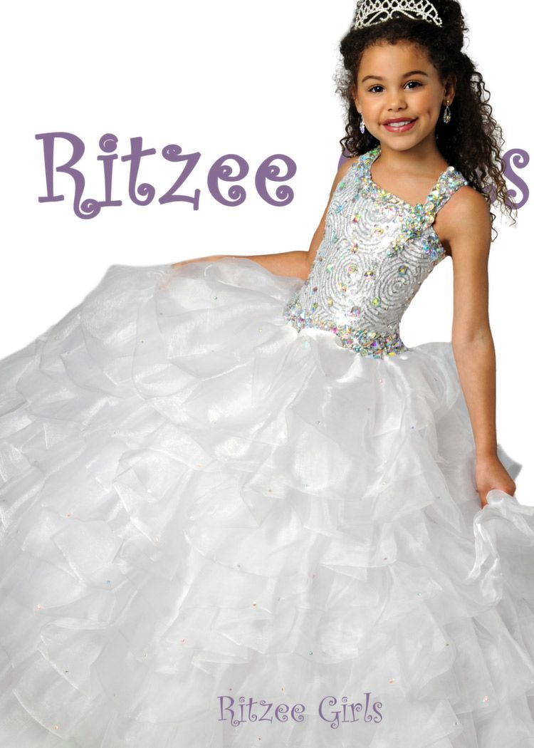 Little girl dresses for weddings  Pin by Girli Girl Prom and Pageant on Little Girlus Pageant Dresses