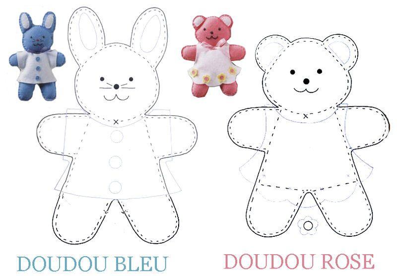 Patron couture lapin | Bricolage et DIY | Pinterest | Stofftiere ...