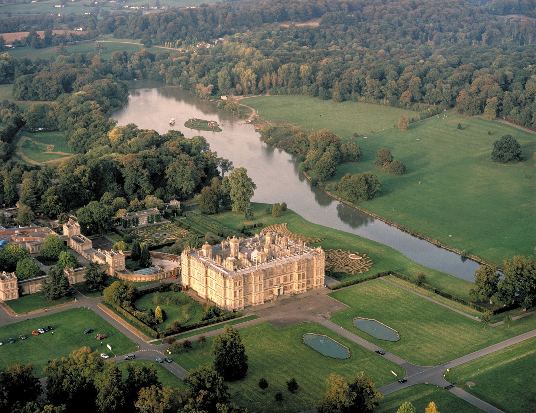 Longleat House Wiltshire, England English stately home