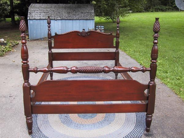 Pineapple Poster Bed Antique Gany, Pineapple Poster Bed Queen