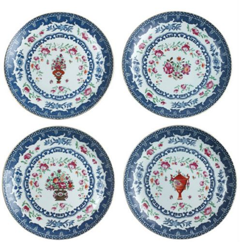 ANDREA BY SADEK Set of 4 Asst Asian Design 10 Chinese Decorative Plates  sc 1 st  Pinterest & Andrea by Sadek Set of 4 Asst Asian Design 10