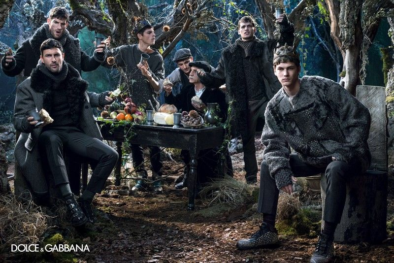 Dolce & Gabbana Men Fall/Winter 2014