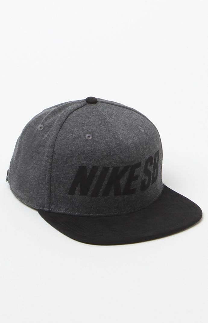 4ac09c522cb44 Hooked on Heather Pro Strapback Hat that I found on the PacSun App ...