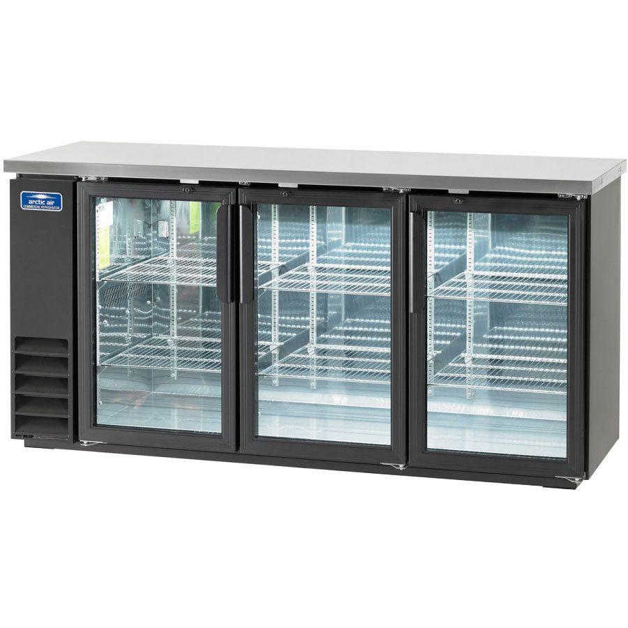 Arctic Air Abb72g 73 Glass Door Back Bar Refrigerator Bar Refrigerator Arctic Air Glass Door