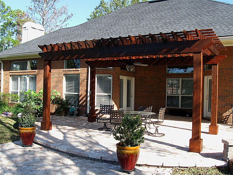 Pergolas And Arbors Idea Amp Photo Gallery Enhance