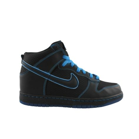 827a96feeee4 Shop for Mens Nike Dunk High Athletic Shoe in BlackBlue at Journeys Shoes.  Shop today