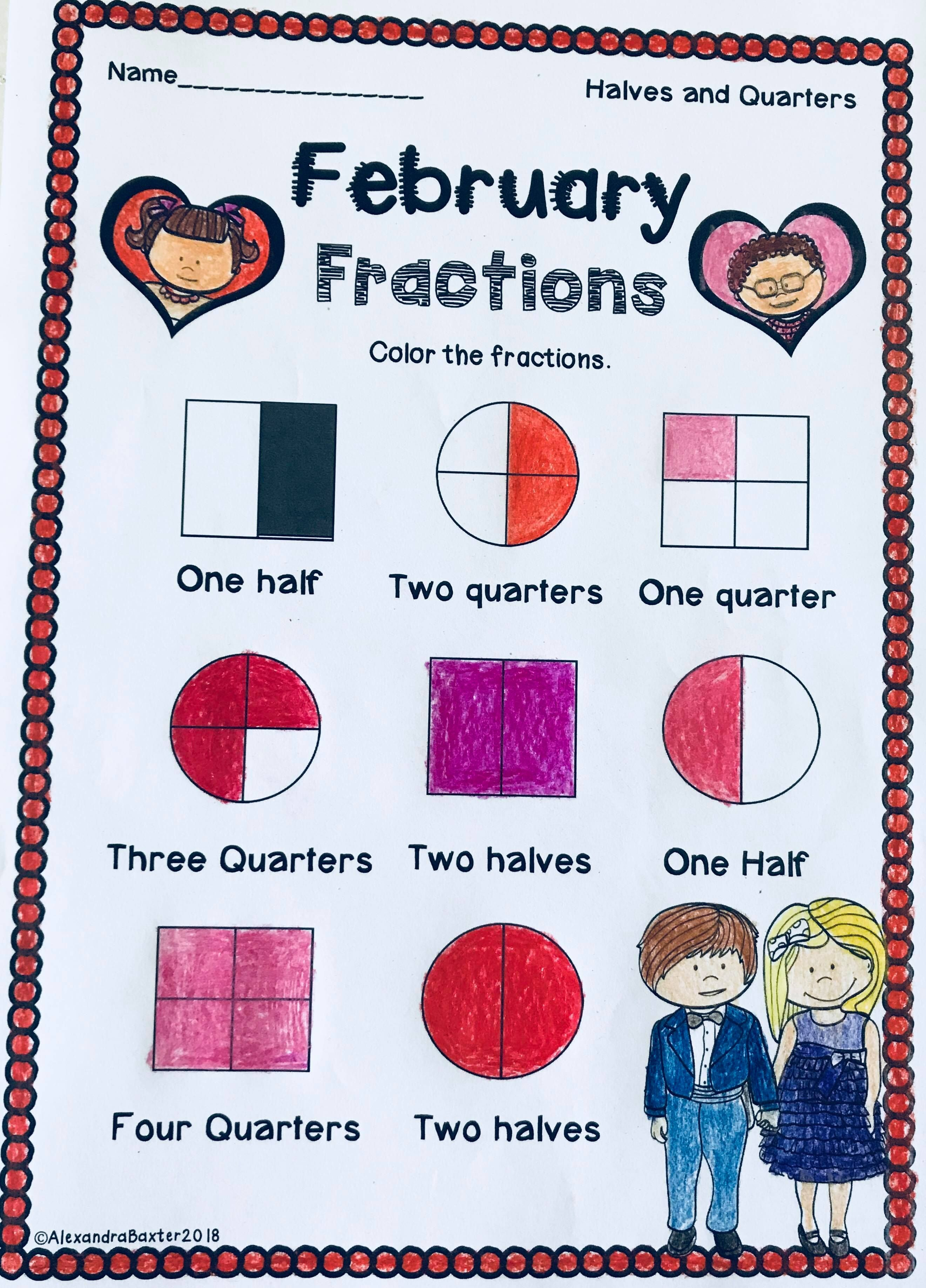 Valentine S Day Math Worksheets For First Grade