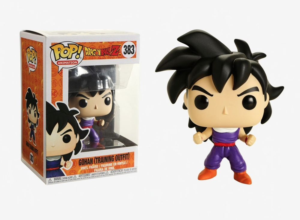Training Outfit Collectible Figure Gohan Multicolor 32259 Funko Pop Animation: Dragonball Z