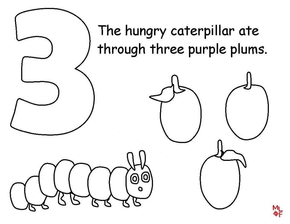 The+Very+Hungry+Caterpillar+Coloring+Pages+Free+for+Kids+