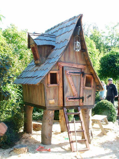 Casa Kaiensis Marchenhaus Spielhaus Garten Gartenhaus