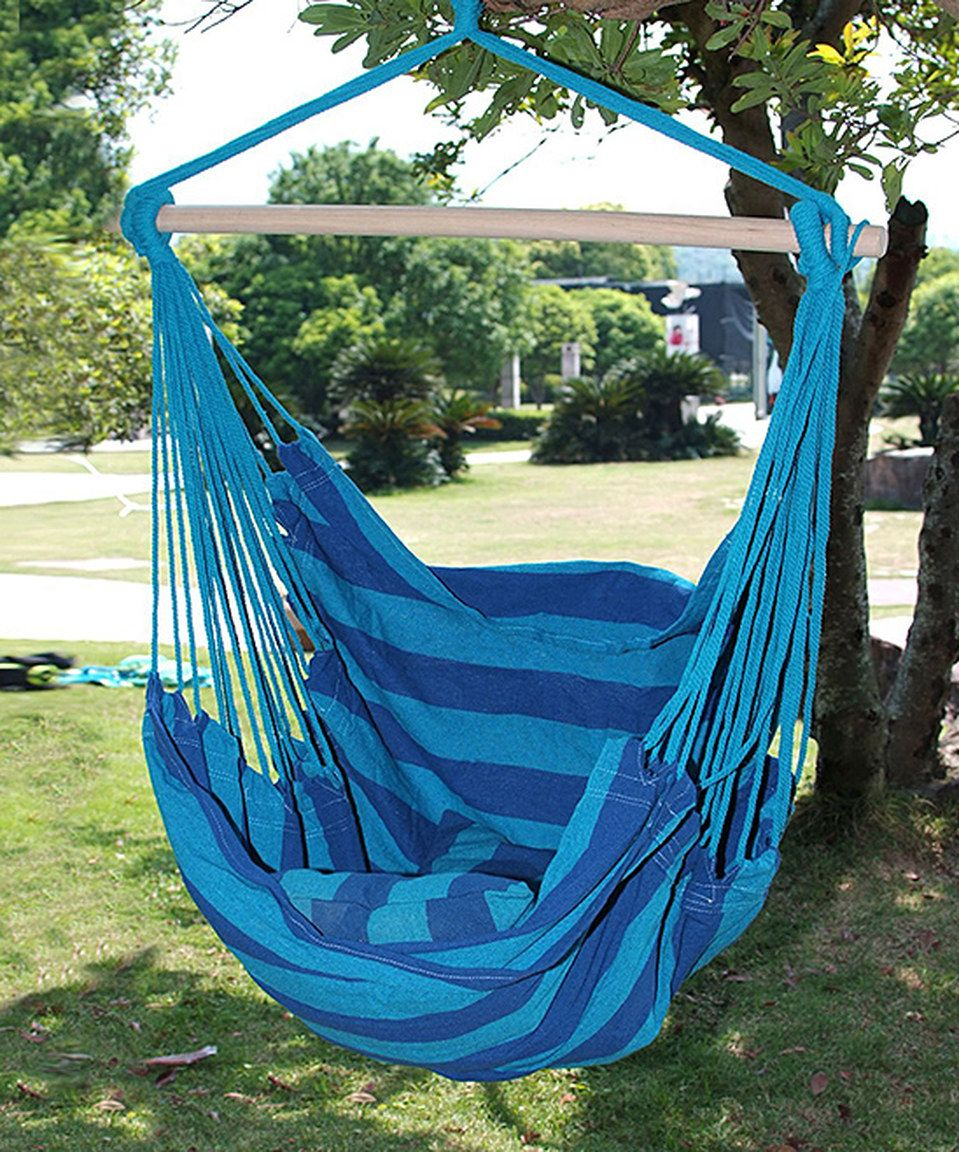 Look what i found on zulily royal blue hammock chair by adeco
