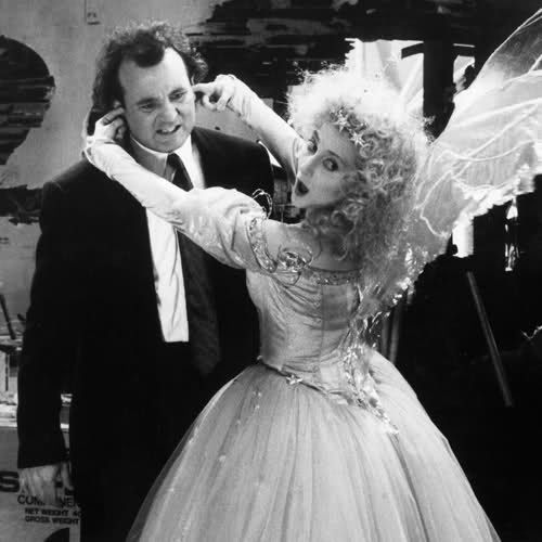 Scrooged...favorite Christmas movie~~~So....according to my boys I ...