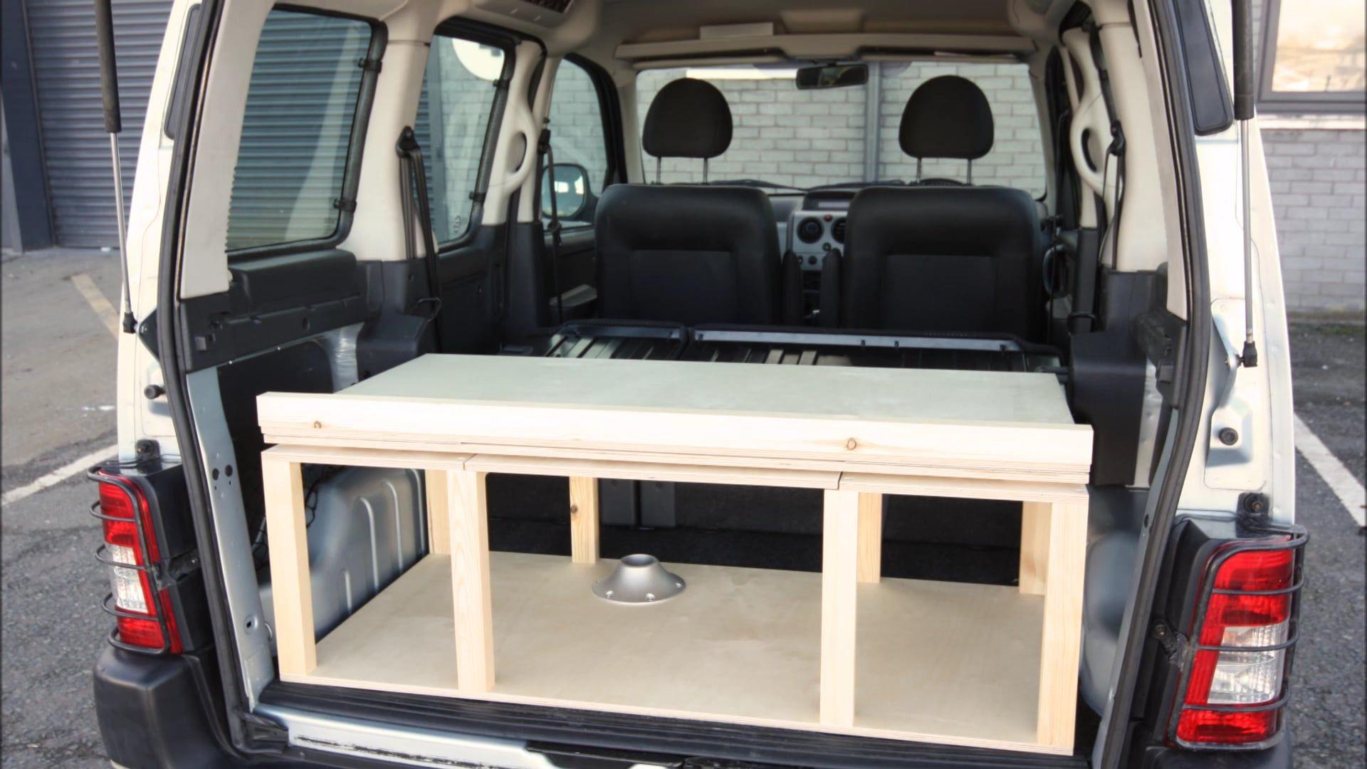 mini camper para partner berlingo y kangoo 1190000. Black Bedroom Furniture Sets. Home Design Ideas