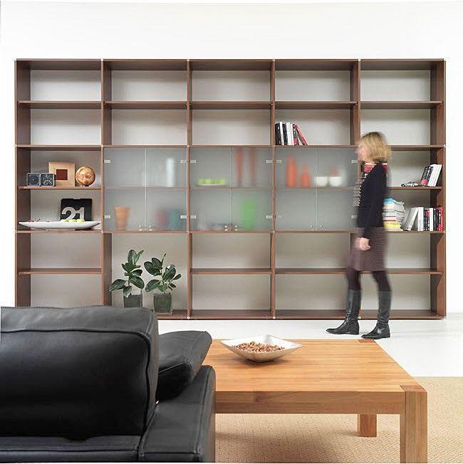 bibliotecas modernas para living - Buscar con Google Casa deco - bibliotecas modernas en casa