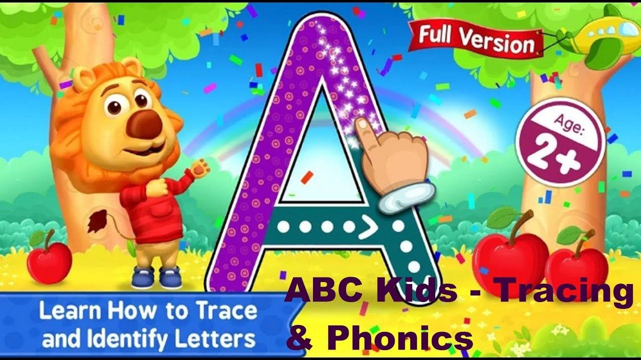 Hello gamer in this video i want to show abc kids tracing