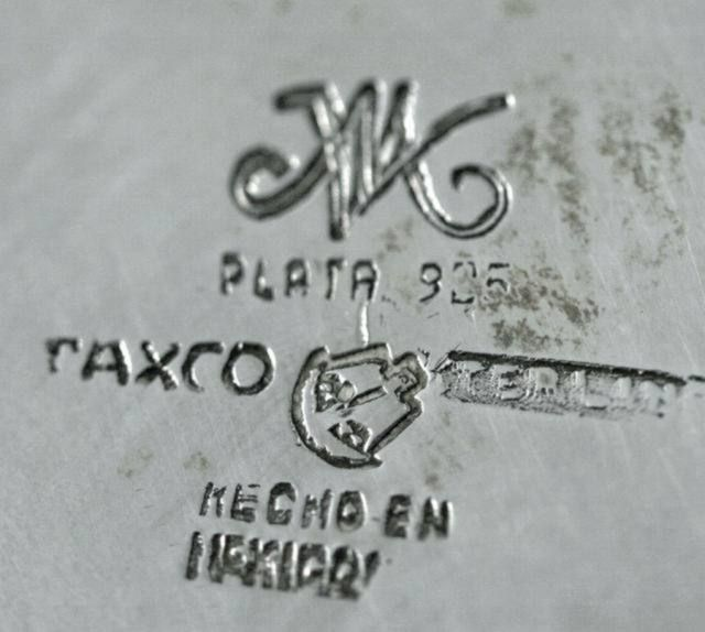Silver jewelry mexico vintage marking