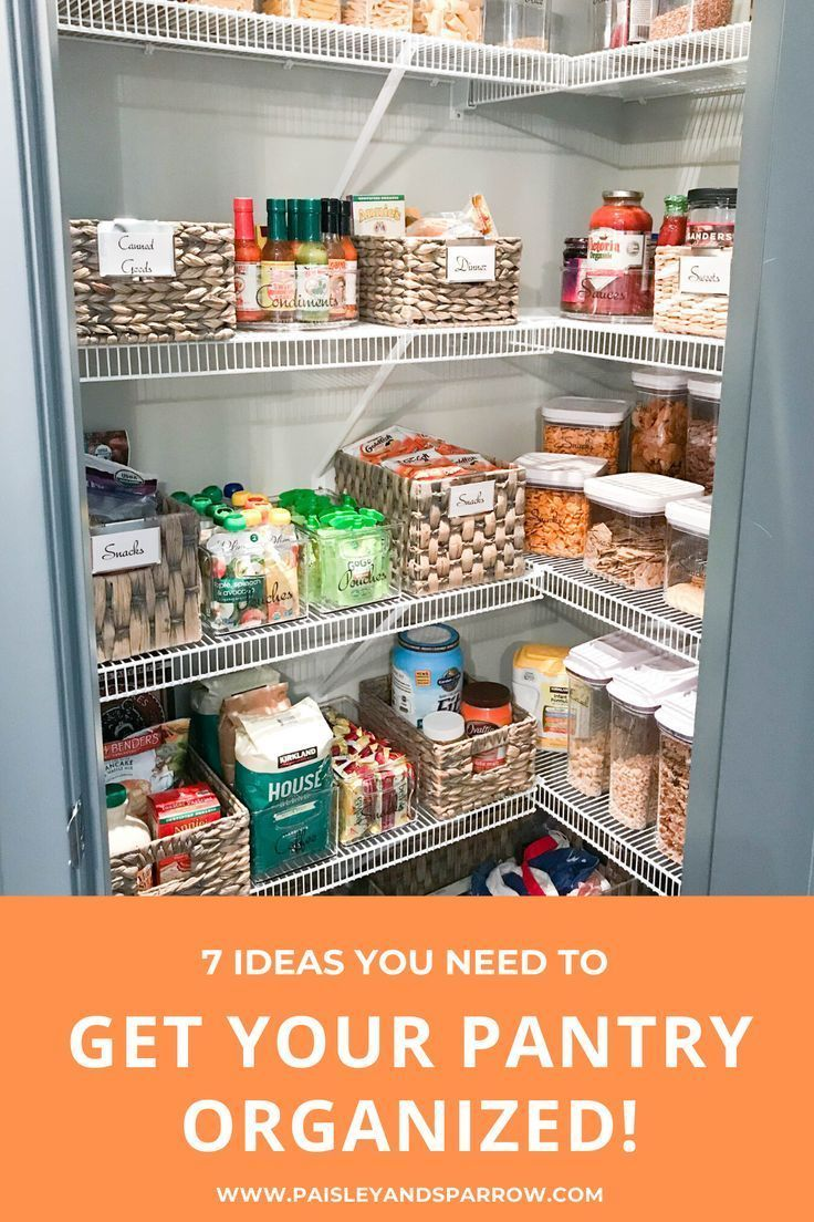 7 Kitchen Pantry Organization Ideas Style + Dwell