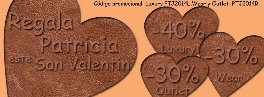 Este San Valentín regala #PatriciaJackets.  Entra en: http://www.patriciajackets.com/index.php/ y aprovéchate de nuestros #descuentos.