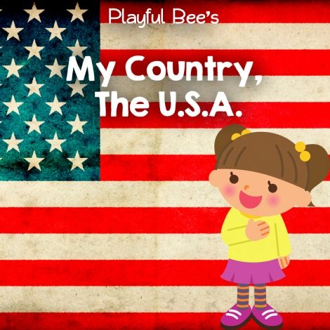 Free My Country The Usa Preschool Unit Preschool Units