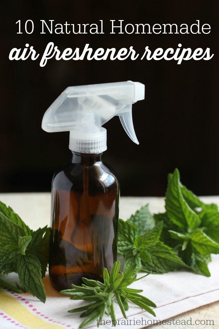 10 Homemade Air Freshener Recipes The Prairie Homestead Air