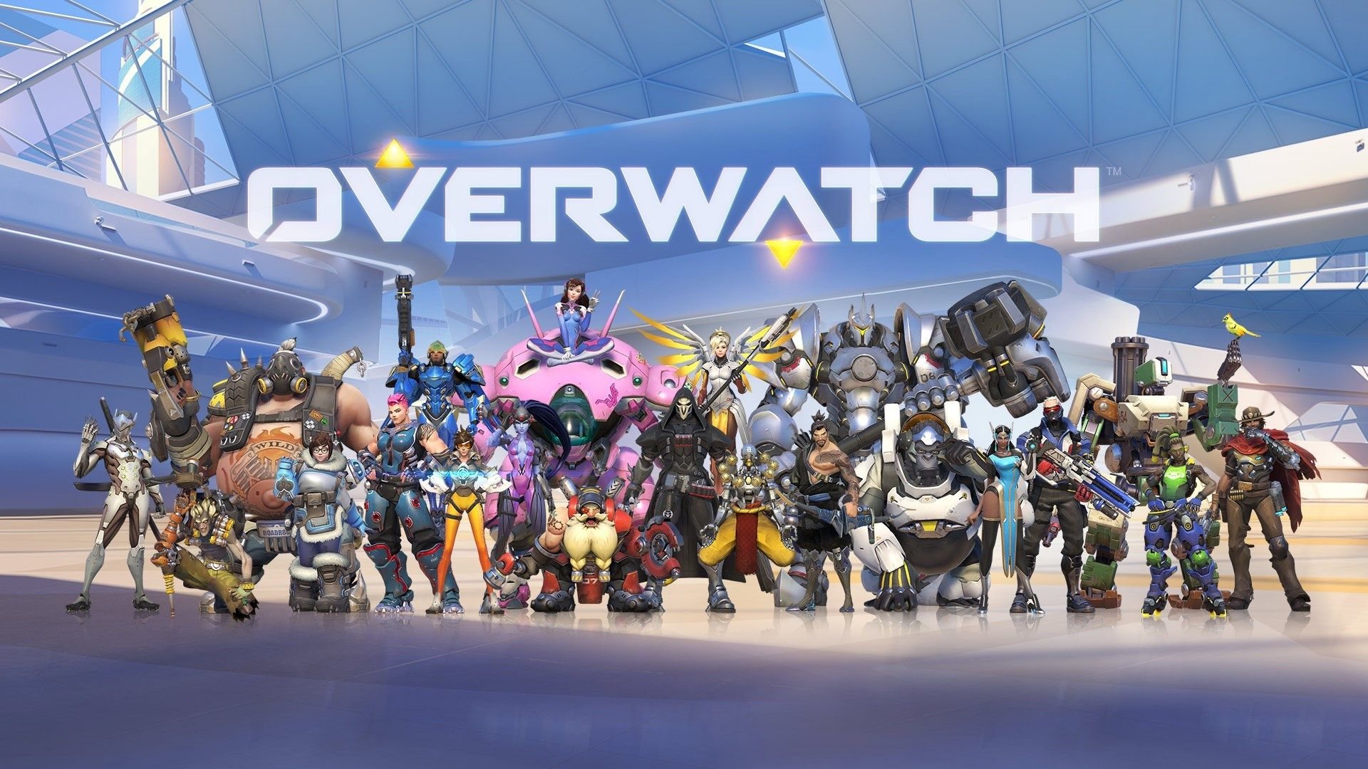 Overwatch Game All Heroes High Definition Wallpapers