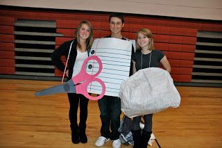 Halloween at the High School - Do You Dress Up?  sc 1 st  Pinterest & Rock Paper Scissors Halloween costumes www.traceeorman.com ...