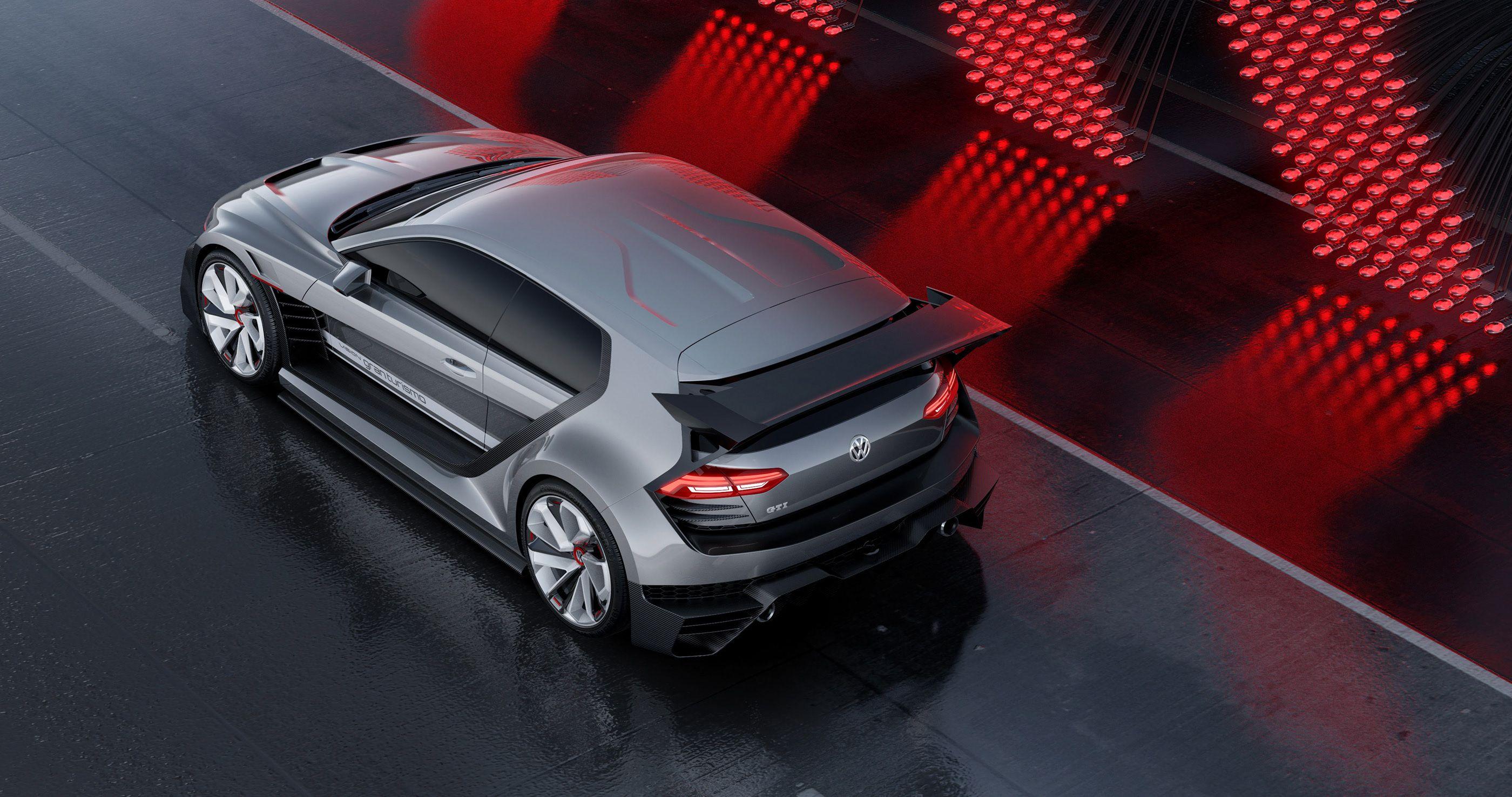 Volkswagen Gti Supersport Vision Gran Turismo Concept On Behance In 2020 Volkswagen Gti Volkswagen Gti