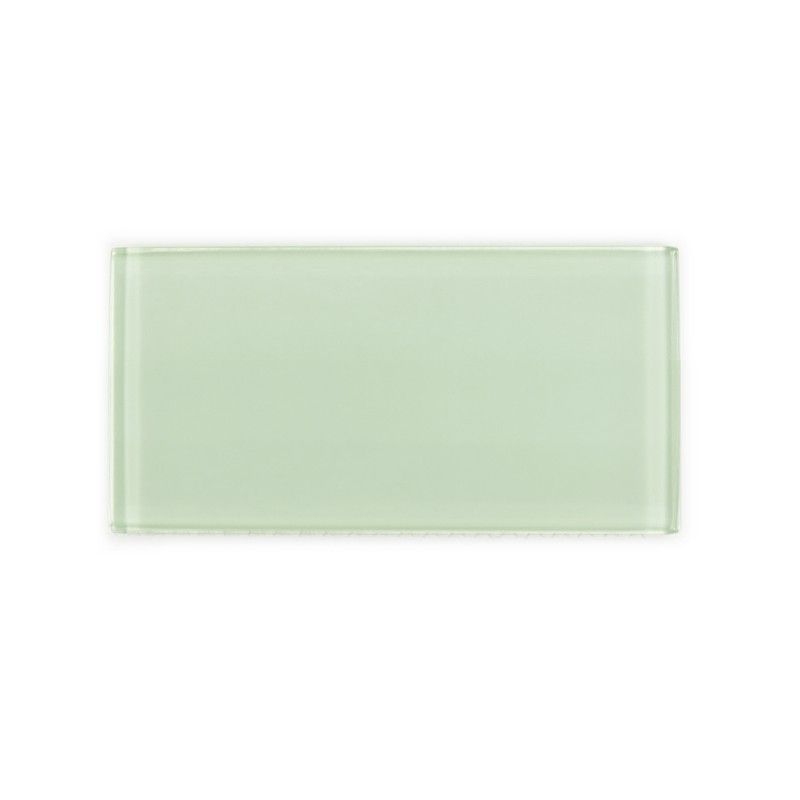 Sample Of Lush In Stock Glass Subway Tile Surf 3x6 Pinterest