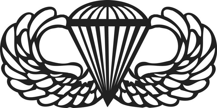 Army Airborne Wings Clipart Ideas Pinterest