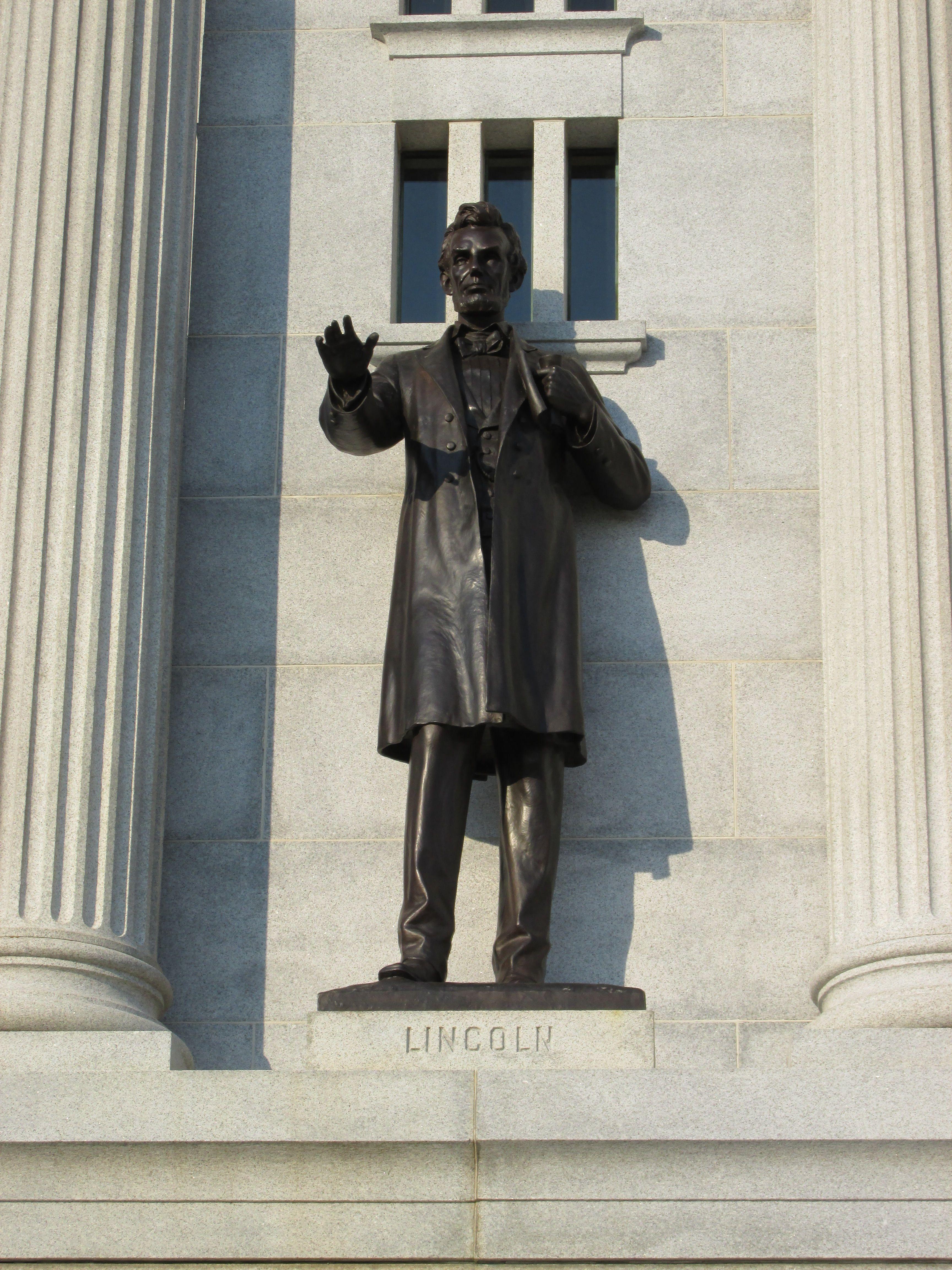 President Lincoln Pennsylvania Monument Gettysburg