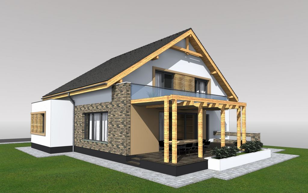 roof designs with attic attic style house design pm01 396 square rh pinterest com