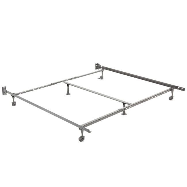 Universal Bed Frame Fits Sizes Twin Xl Full Queen King Ca King With Images Metal Bed Frame Universal Bed Metal Beds