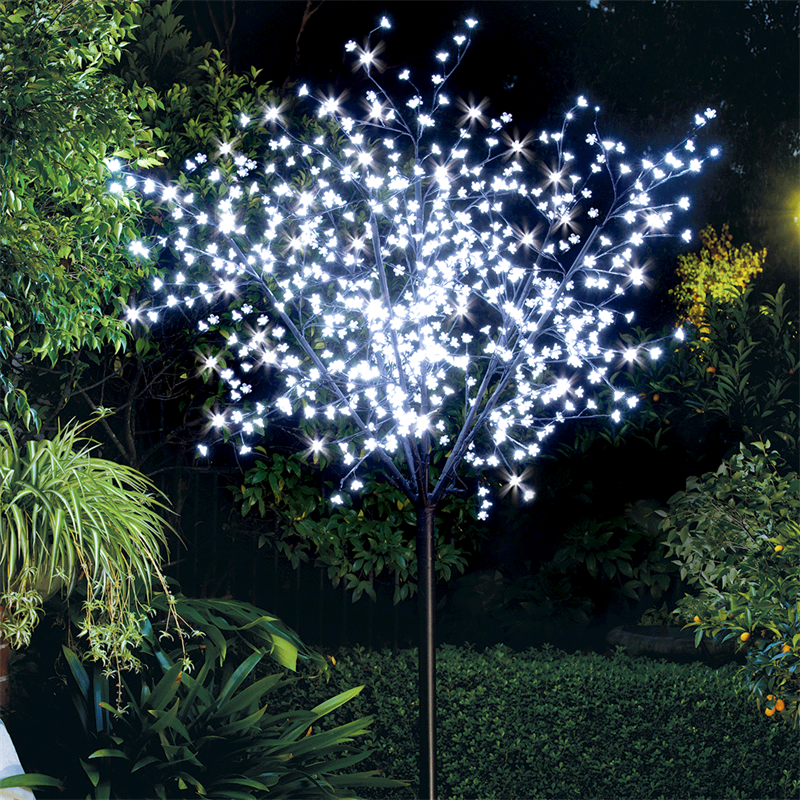 Find Lytworx 2 5m 600 Led White Light Up Blossom Tree At Bunnings