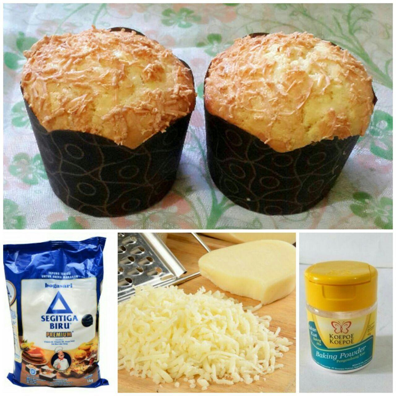 Kue Keju Muffin Empuk Gurih Lezat Ala Toko Roti Di Mal Mal Dijamin Rasanya Sama Persis Youkitchen Ide Makanan Kue Lezat Resep Makanan