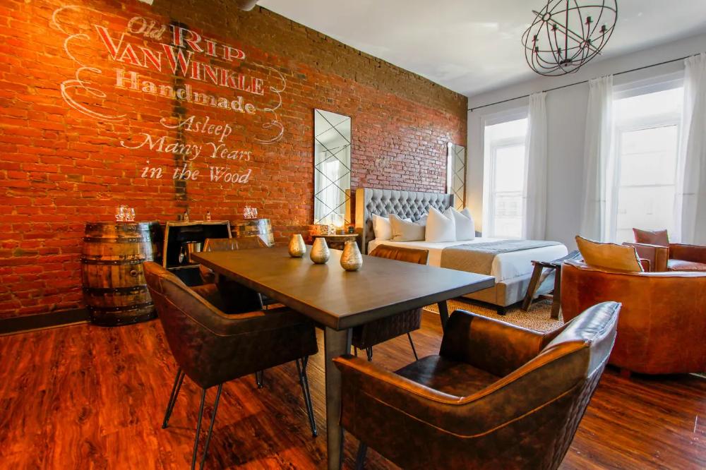Nulu Downtown Bourbon Loft W Parking Lofts For Rent In Louisville Lofts For Rent Furniture Home