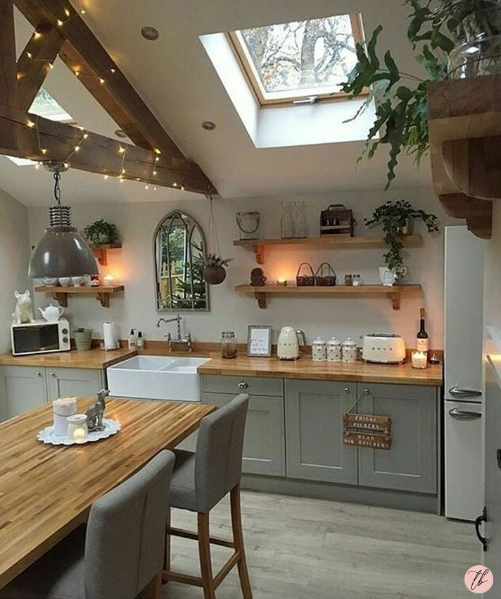 51 Small Kitchen Design Ideas That Make The Most Of A Tiny: Inspiração Cômodo Por Cômodo