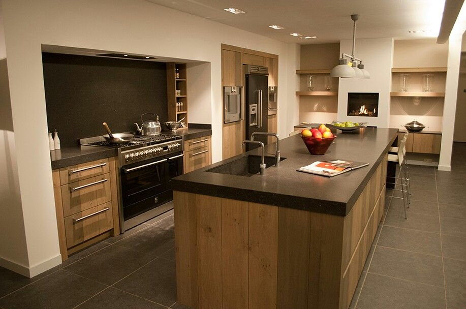 Moderne landelijke keuken kuchnia kitchens aga