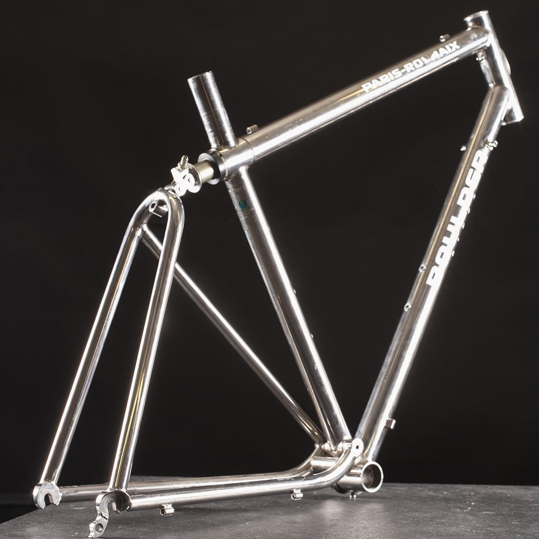 Boulder Titanium Suspension Road Bike Rare Fahrrad Design