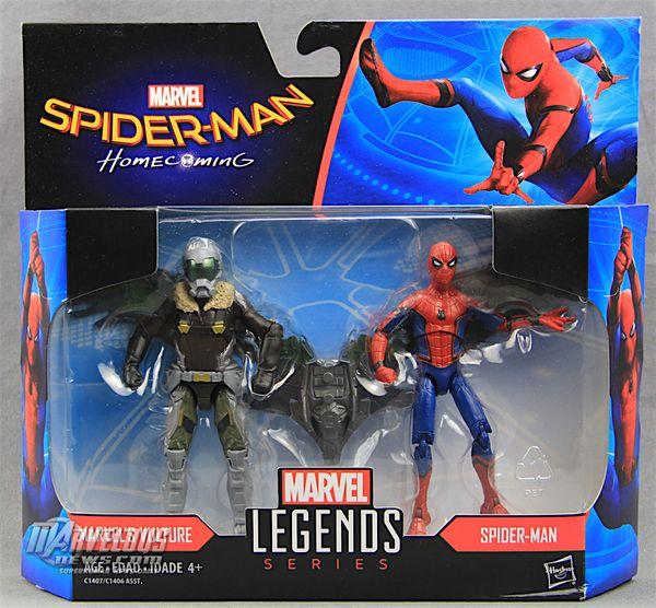 """VULTURE /& SPIDER-MAN Marvel Legends 3.75/"""" Figures 2-pack Spider-Man Homecoming"""