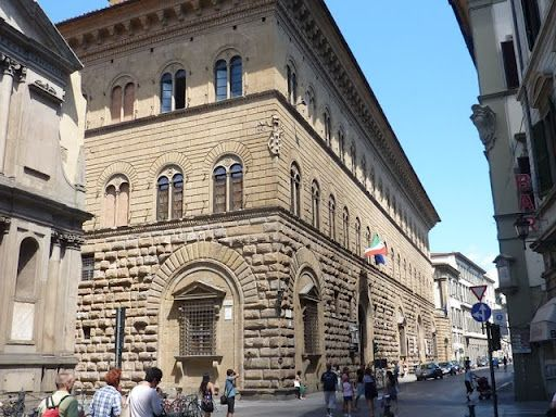 Palazzo Medici, where the bank was located of the De'Medici family. #TuscanyAgriturismoGiratola