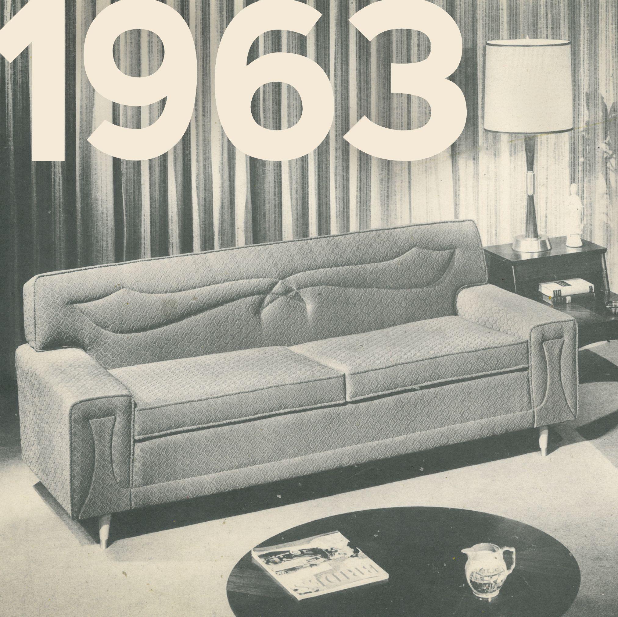 Norwalk Furniture sofa from 1963 Norwalk Our Story Pinterest