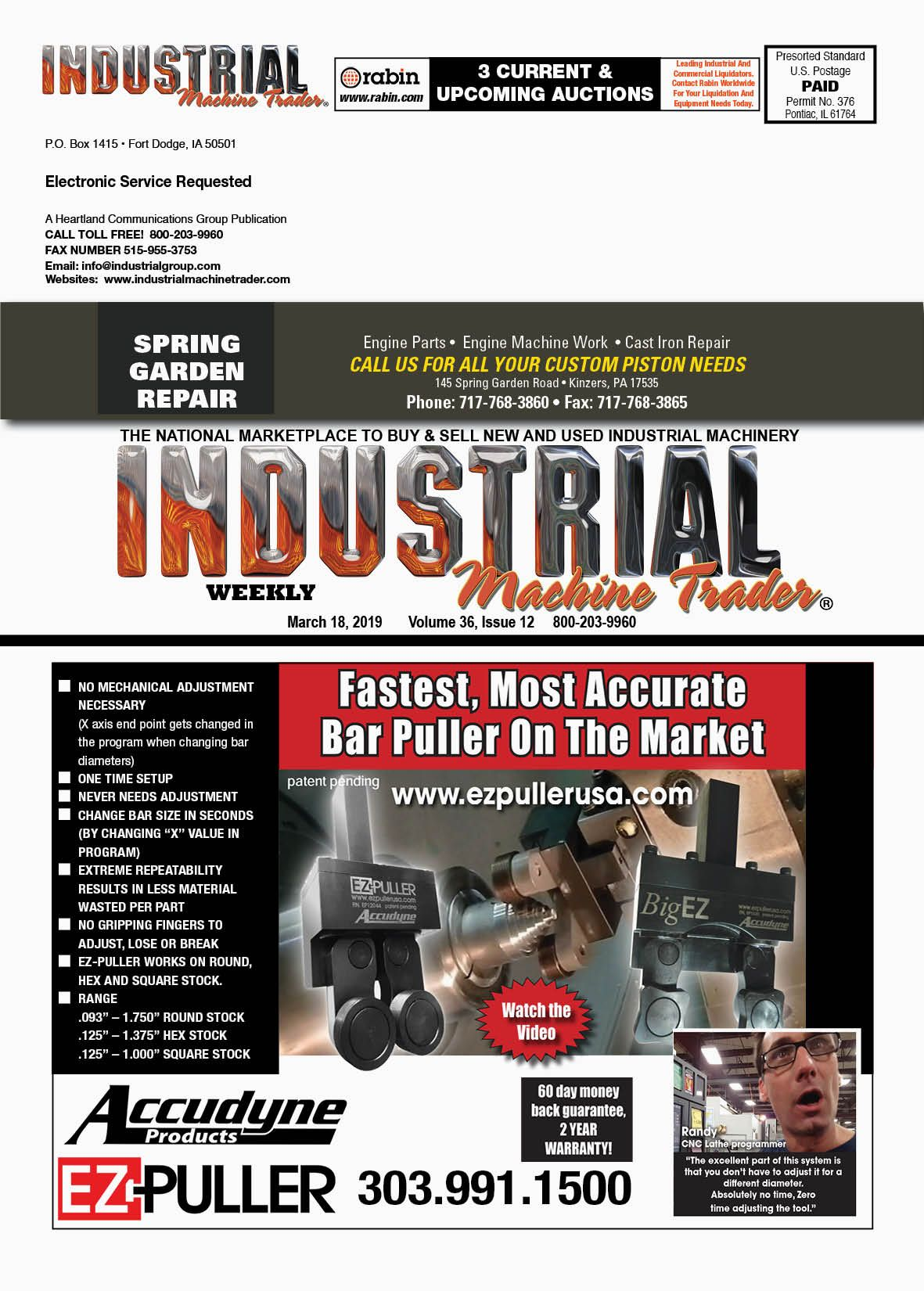 Click To View The 3 18 Issue Of Industrial Machine Trader