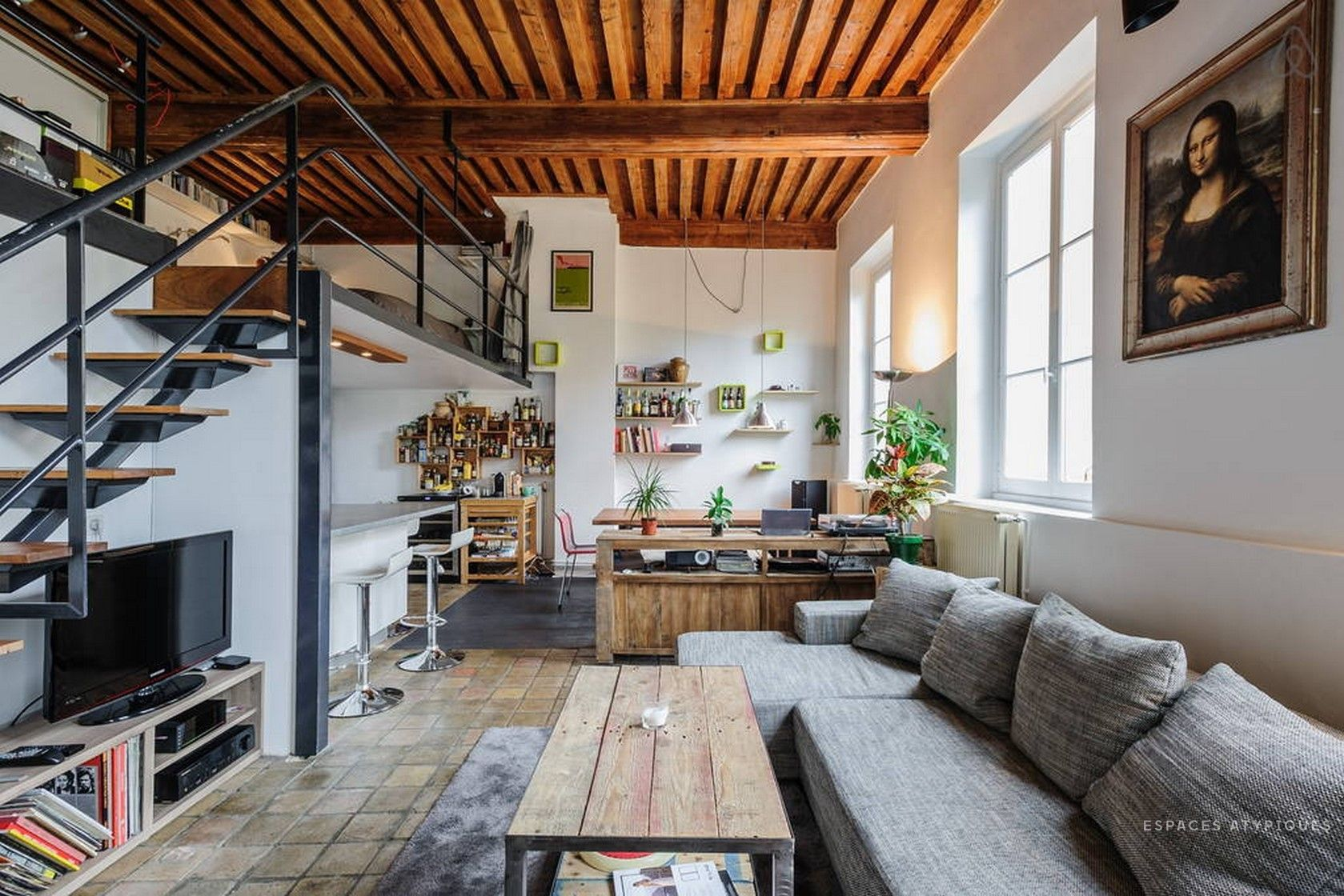 Lyon, Lyon 4ème : Canut en duplex - Agence EA Lyon | Espaces ...