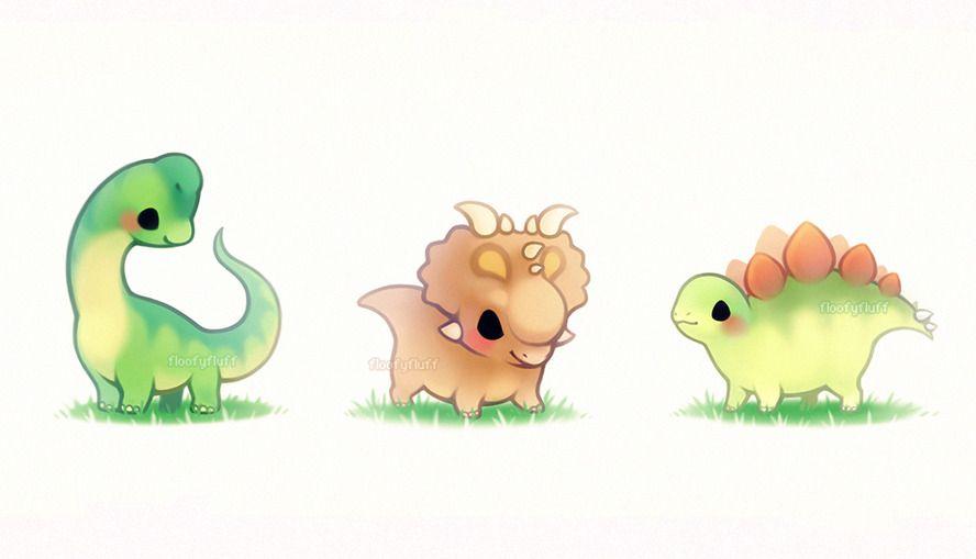 Herbivores With Images Cute Dinosaur Cute Animal Drawings