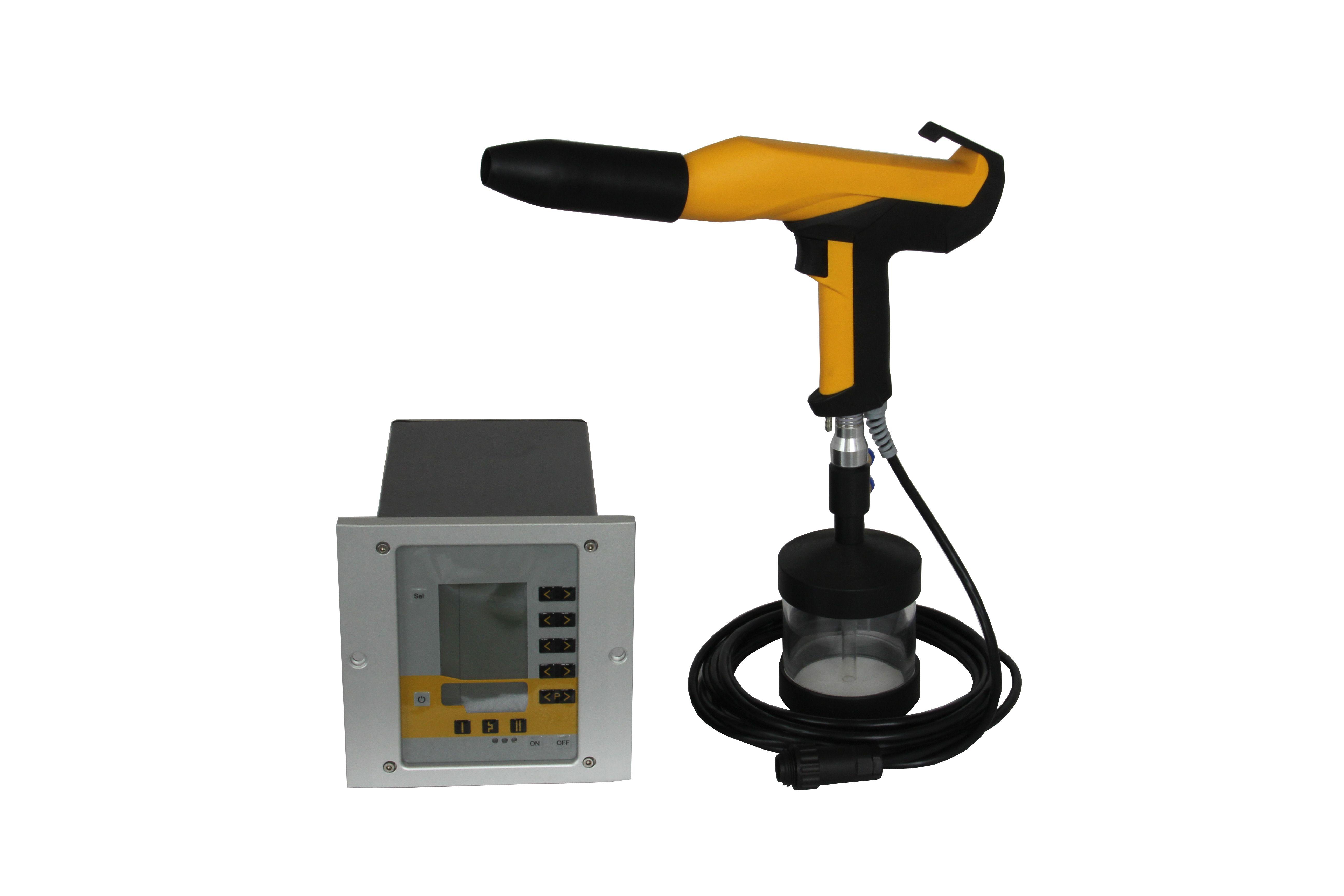 Pin on Small Electrostatic Powder Coating Spray Gun Machine
