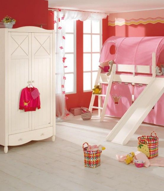 kids-bedroom-playroom-paidi-pink-white | I Likeeee | Pinterest ...