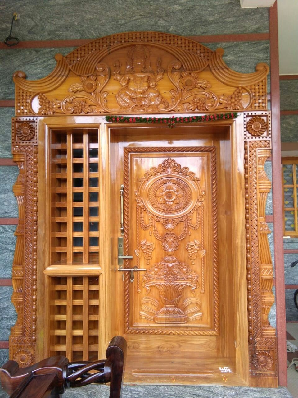 Pin By Chandru On Architecture: Pin On Pooja Room Door Design