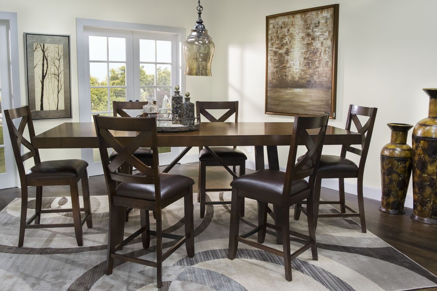Kaylee Espresso Counter Table - Dining Tables - Dining Room   Mor Furniture  for Less   Home Decor   Pinterest   Espresso, Room and House - Kaylee Espresso Counter Table - Dining Tables - Dining Room Mor