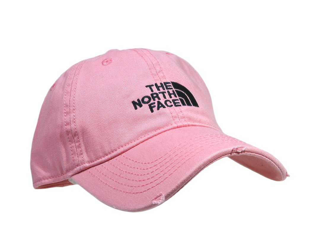 The North Face Distress Baseball Cap Pink B02 North Face Outfits Distressed Baseball Cap The North Face